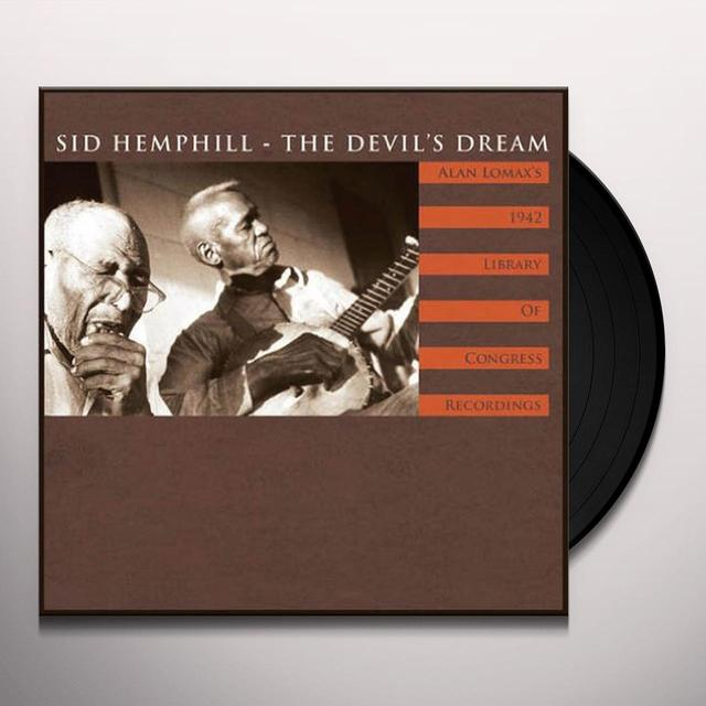 Sid Hemphill DEVIL'S DREAM Vinyl Record - Limited Edition