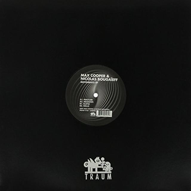 Max Cooper & Nicolas Bougaieff MOVEMENTS (EP) Vinyl Record