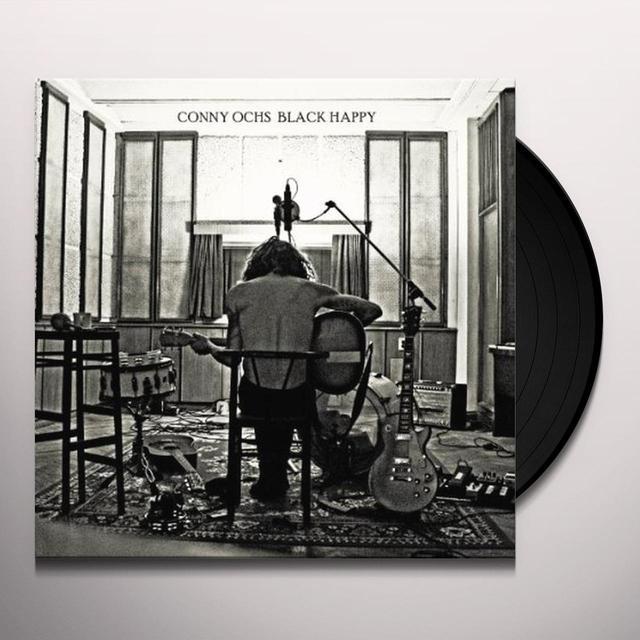 Conny Ochs BLACK HAPPY Vinyl Record