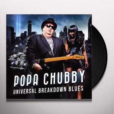 Popa Chubby UNIVERSAL BREAKDOWN BLUES Vinyl Record