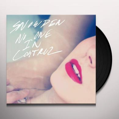 Snowden NO ONE IN CONTROL Vinyl Record