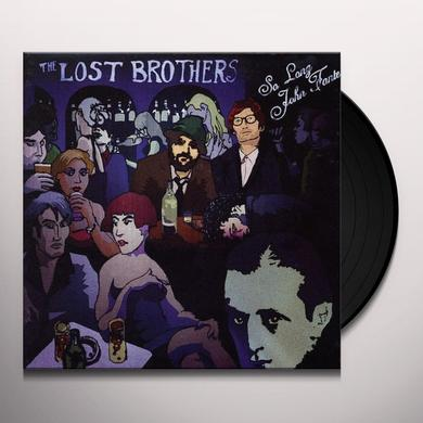 THE LOST BROTHERS SO LONG JOHN FANTE Vinyl Record - UK Import