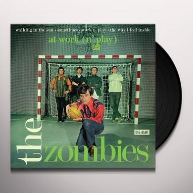 The Zombies AT WORK Vinyl Record - UK Import