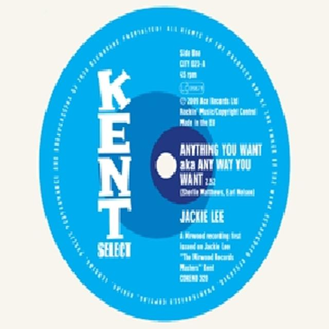 Jackie Lee ANYTHING YOU WANT / TRUST ME Vinyl Record - UK Import