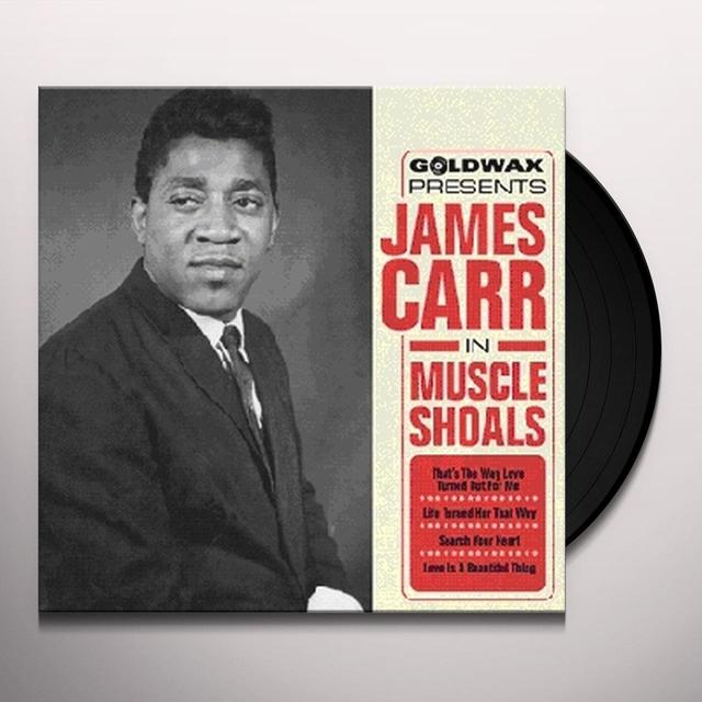 James Carr IN MUSCLE SHOALS Vinyl Record - UK Import