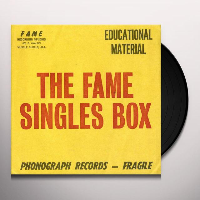 FAME SINGLES BOX / VARIOUS Vinyl Record - UK Import