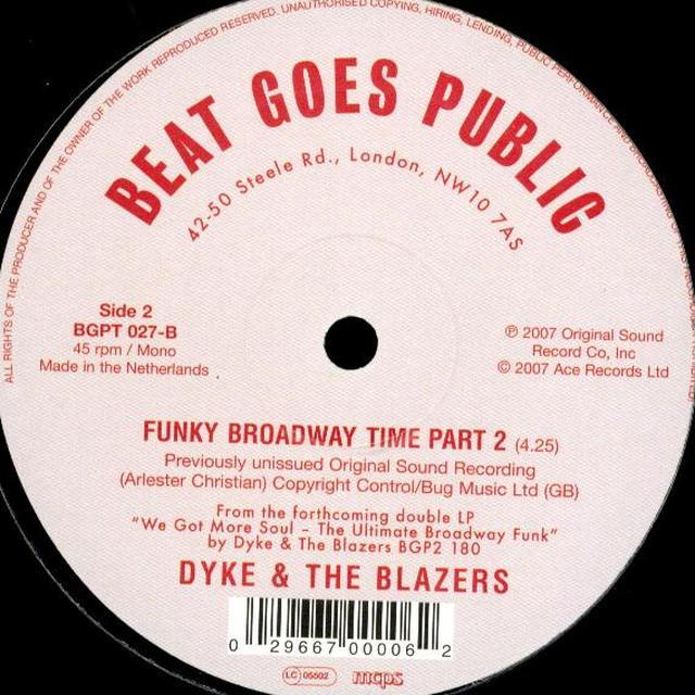 Dyke & Blazers LET A WOMAN BE A WOMAN LET A MAN BE A MAN Vinyl Record