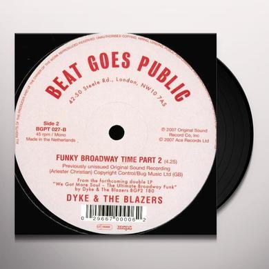 Dyke & Blazers LET A WOMAN BE A WOMAN LET A MAN BE A MAN Vinyl Record - UK Import