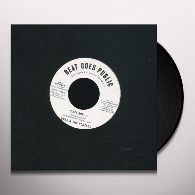 Dyke & Blazers BLACK BOY / LET A WOMAN BE A WOMAN LET A MAN BE Vinyl Record