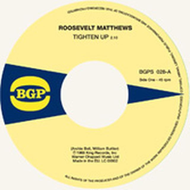 Roosevelt Matthews / Marie Queenie Lyons TIGHTEN UP / SEE & DON'T SEE Vinyl Record - UK Import