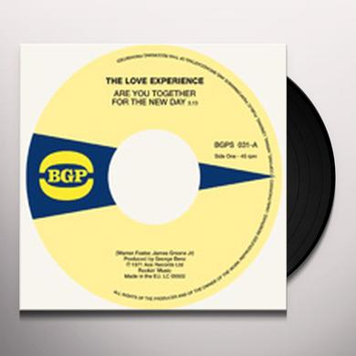 Love Experience / 87Th Off Broadway ARE YOU TOGETHER FOR THE NEW DAY / MOVING WOMAN Vinyl Record
