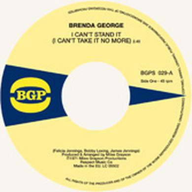 Brenda George I CAN'T STAND IT / WHAT YOU SEE IS WHAT YOU'RE Vinyl Record