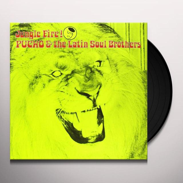 Pucho & The Latin Soul Brothers JUNGLE FIRE Vinyl Record - UK Import