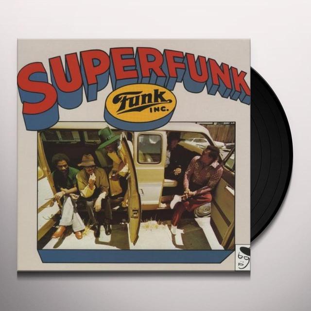 Funk Inc SUPERFUNK Vinyl Record - UK Import