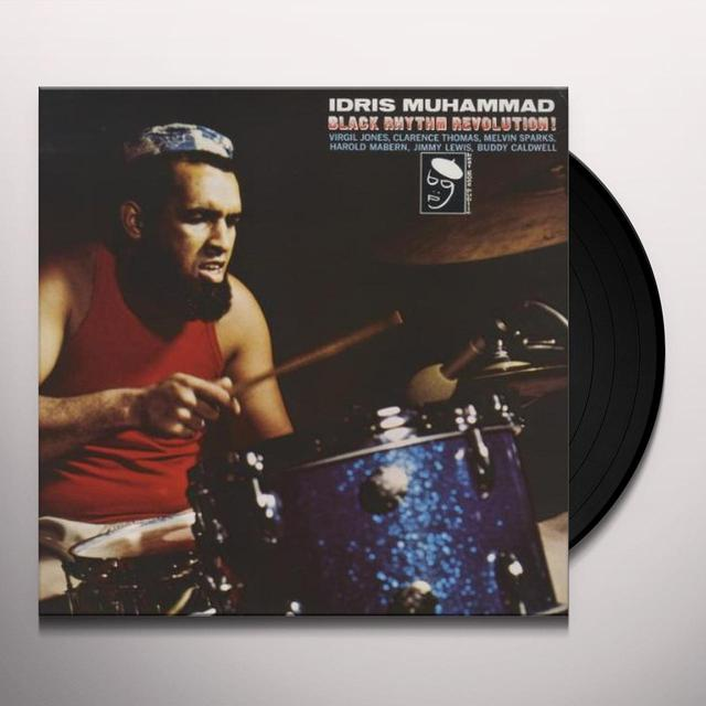 Idris Muhammad BLACK RHYTHM REVOLUTION Vinyl Record - UK Import