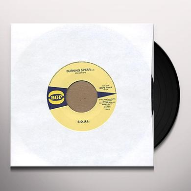S.O.U.L. BURNING SPEAR / DO WHATEVER YOU WANT TO DO Vinyl Record - UK Import
