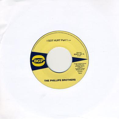 Phillips Brothers I GOT HURT 1 / I GOT HURT 2 Vinyl Record