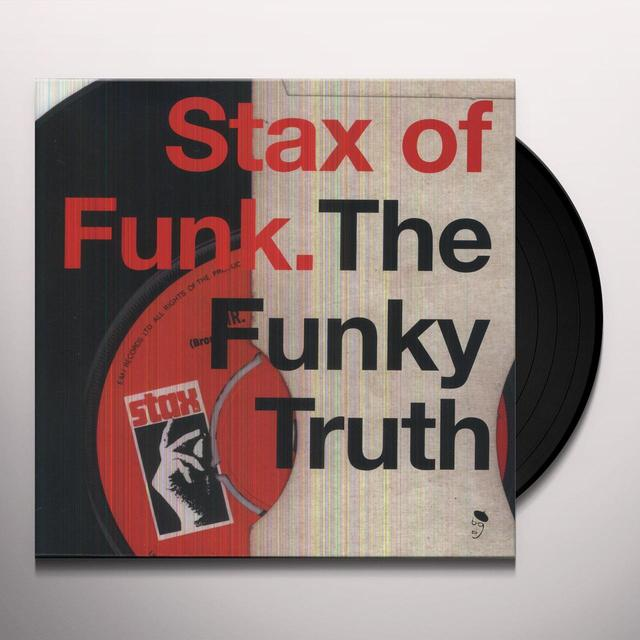 STAX OF FUNK: FUNKY TRUTH / VARIOUS Vinyl Record - UK Import