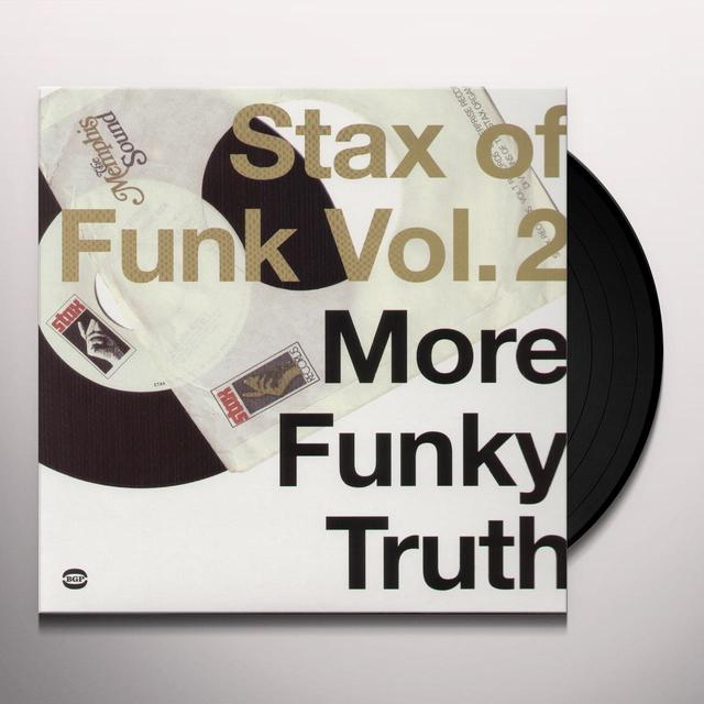 STAX OF FUNK 2: MORE FUNKY TRUTH / VARIOUS Vinyl Record - UK Import