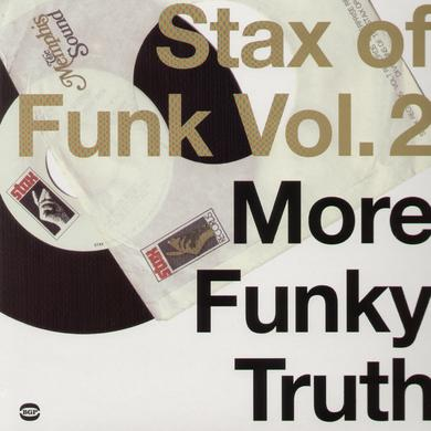 STAX OF FUNK 2: MORE FUNKY TRUTH / VARIOUS Vinyl Record