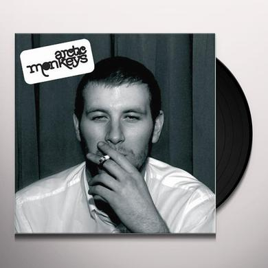 Arctic Monkeys WHATEVER PEOPLE SAY I AM THAT'S WHAT I AM NOT Vinyl Record - UK Release