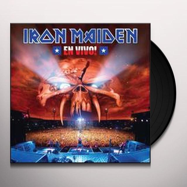 Iron Maiden EN VIVO Vinyl Record - Canada Import