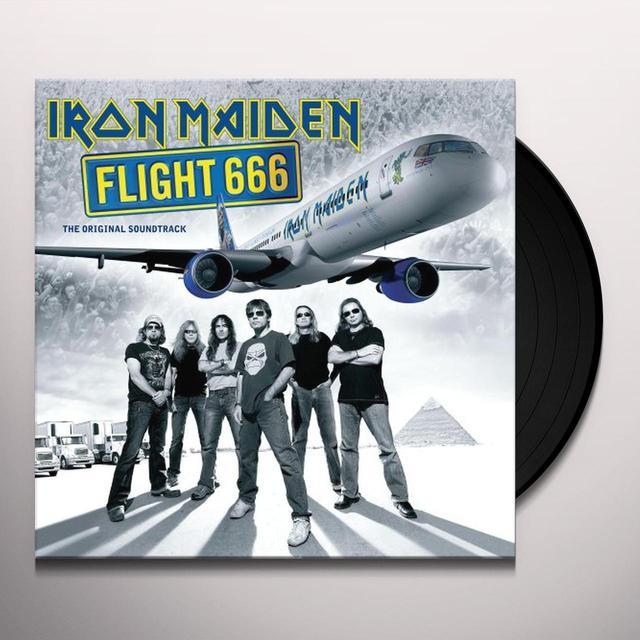 Iron Maiden FLIGHT 666 Vinyl Record