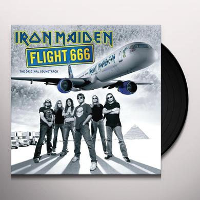 Iron Maiden FLIGHT 666 (GER) Vinyl Record