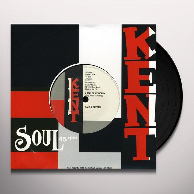 Salt & Pepper / The San Francisco Tkos MAN OF MY WORD / MAKE UP YOUR MIND Vinyl Record