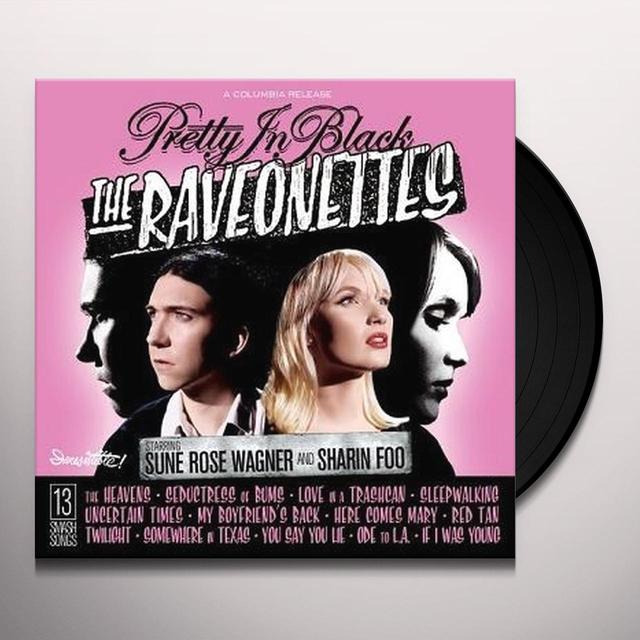 The Raveonettes PRETTY IN BLACK Vinyl Record - 180 Gram Pressing