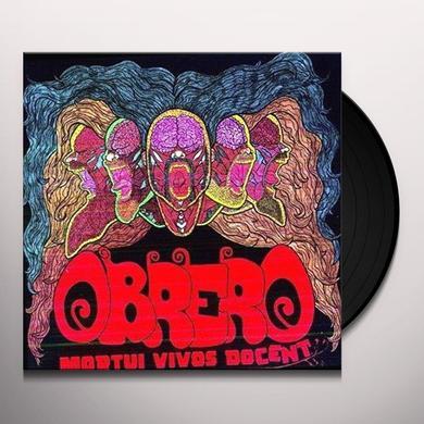 Obrero MORTUI VIVOS DOCENT Vinyl Record
