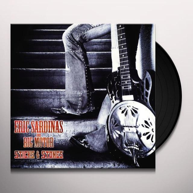 Eric Sardinas STICKS & STONES Vinyl Record