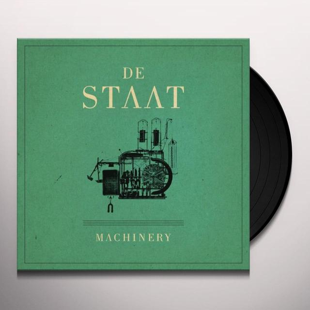 De Staat MACHINERY Vinyl Record