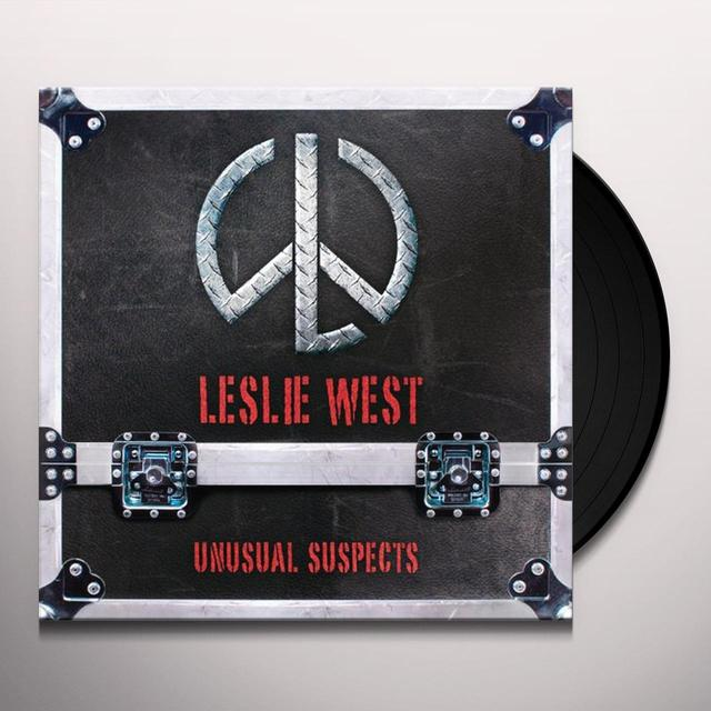 Leslie West UNUSUAL SUSPECTS Vinyl Record