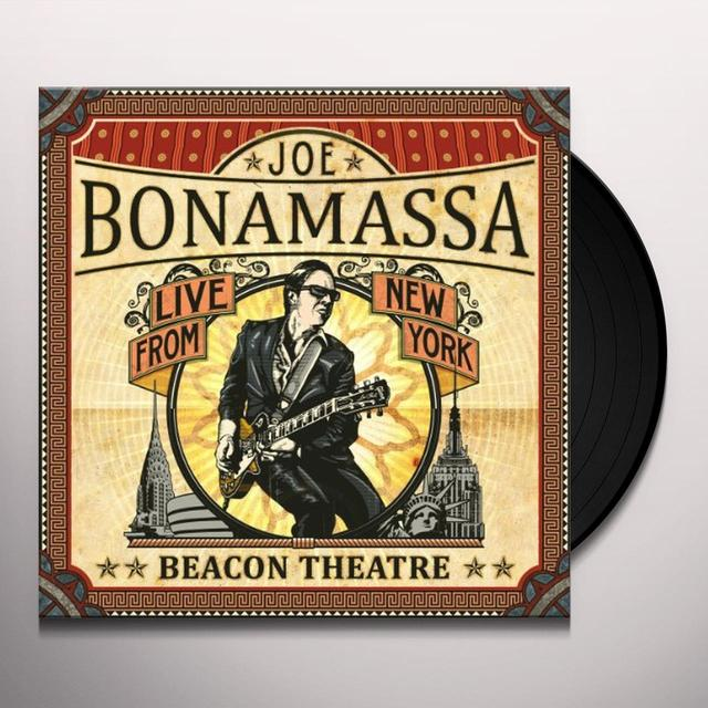 Joe Bonamassa BEACON THEATRE: LIVE FROM NEW YORK Vinyl Record