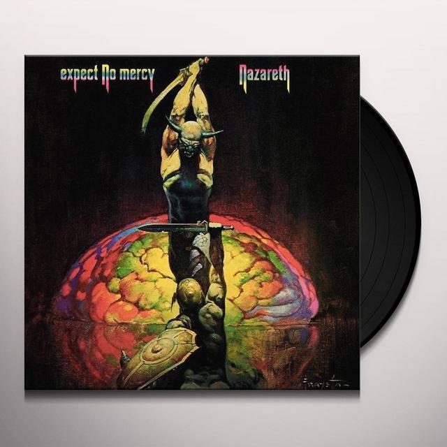Nazareth EXPECT NO MERCY Vinyl Record - Limited Edition, Colored Vinyl, 180 Gram Pressing
