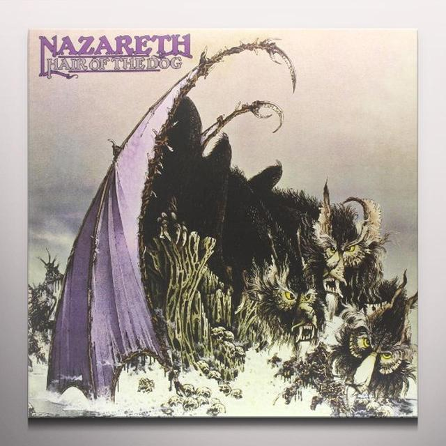 Nazareth HAIR OF THE DOG Vinyl Record - Limited Edition, Colored Vinyl, 180 Gram Pressing