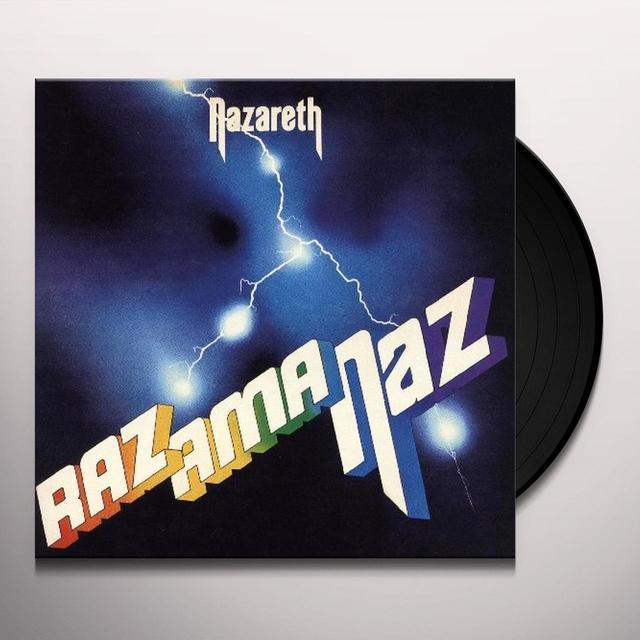 Nazareth RAZAMANAZ Vinyl Record - Limited Edition, Colored Vinyl, 180 Gram Pressing