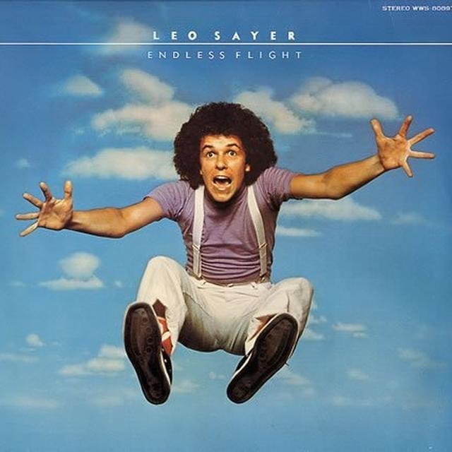 Leo Sayer ENDLESS FLIGHT Vinyl Record