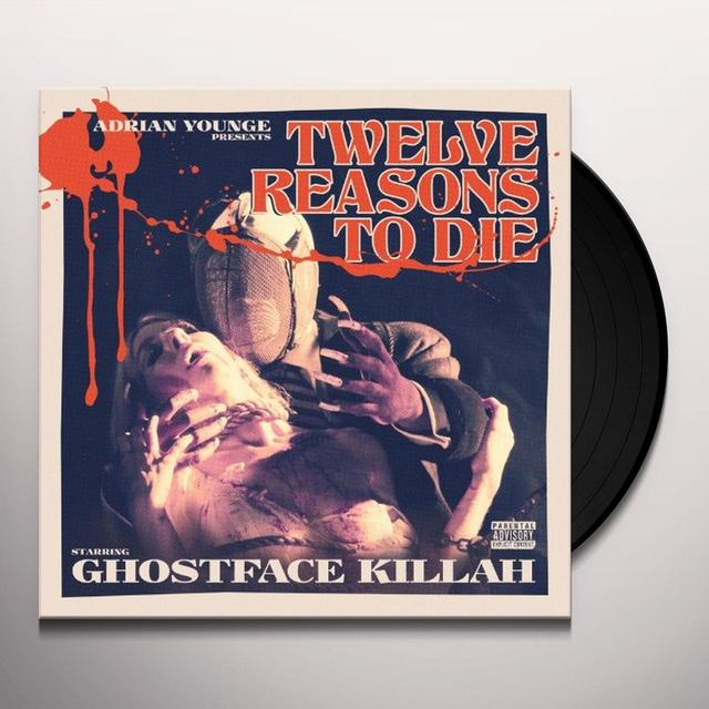 Ghostface Killah 12 REASONS TO DIE Vinyl Record
