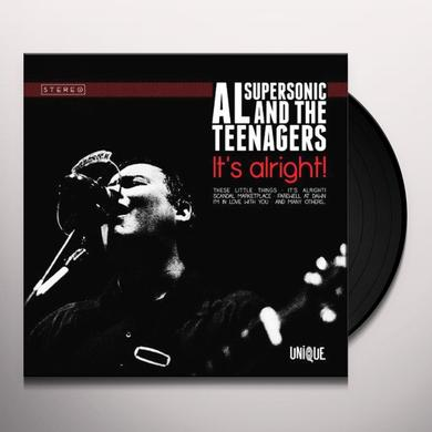 Al Supersonic & The Teenagers IT'S ALRIGHT Vinyl Record