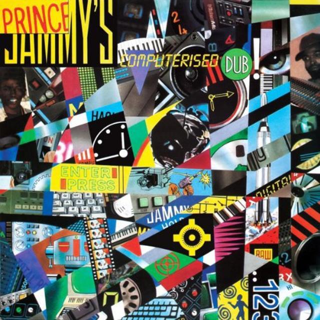Prince Jammy's COMPUTERIZED DUB Vinyl Record
