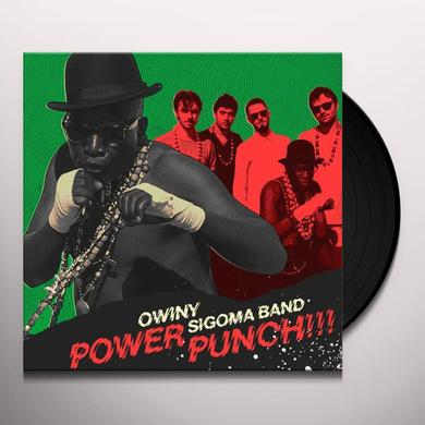 Owiny Sigoma Band POWER PUNCH Vinyl Record