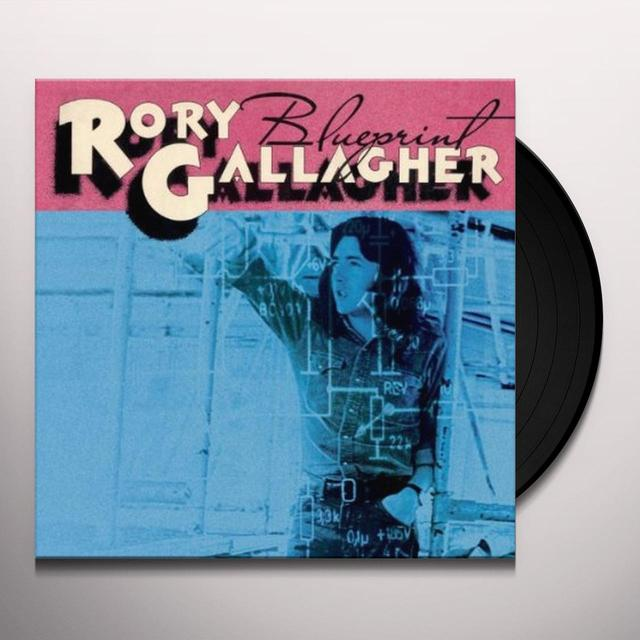 Rory Gallagher BLUEPRINT Vinyl Record