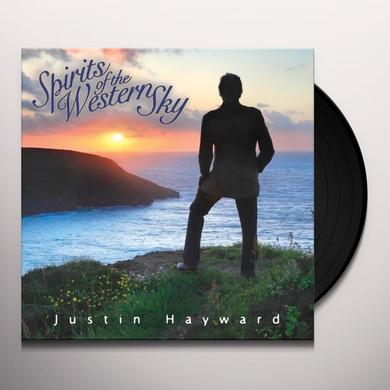 Justin Hayward SPIRITS OF THE WESTERN SKY Vinyl Record