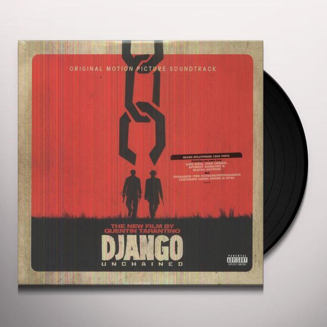 QUENTIN TARANTINO'S DJANGO UNCHAINED / O.S.T. Vinyl Record