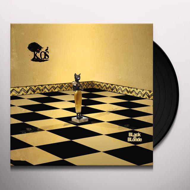 K-Os BLACK ON BLONDE Vinyl Record