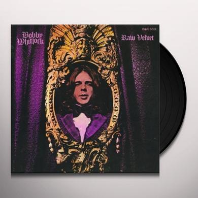 Bobby Whitlock RAW VELVET Vinyl Record - 180 Gram Pressing, Remastered, Reissue