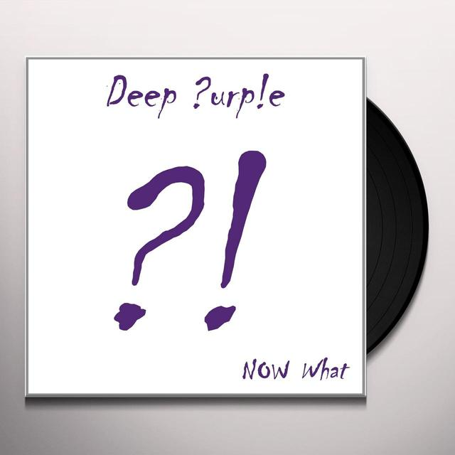 Deep Purple NOW WHAT Vinyl Record