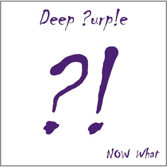 Deep Purple NOW WHAT Vinyl Record